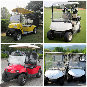 Yescom Golf Clear Windshield Fold Down Acrylic for Club Car Precedent