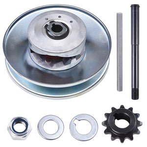 "Yescom Torque Converter Go Kart Set Clutch TAV2 3/4"" Bore 12T for 35 Chians"