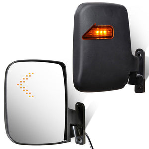 Yescom LED Turn Signal Set (2) Golf Cart Side View Mirrors