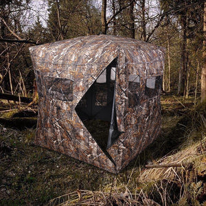 Yescom Square Pop Up Camp-out Hunting Ground Blinds Camo
