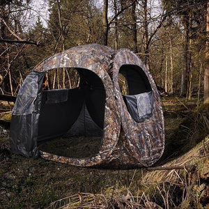 Yescom Durable Steel Frame Outdoor Pop Up Blind Camouflage