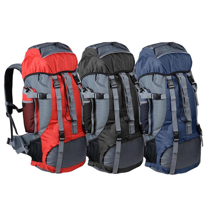 70L Large Outdoor Sport Backpack Climbing Hiking Bag Color Opt