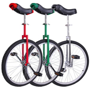 24 inch Unicycle Wheel Frame Color Optional