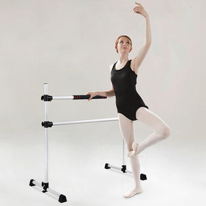 Yescom Portable Ballet Barre Double Adjustable Height