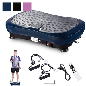 "Yescom Vibration Plate Exercise Machine 9 Modes 21""x13"""