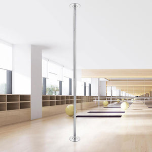 AW Spinning Static Removable Dance Pole, D45mm, 9ft