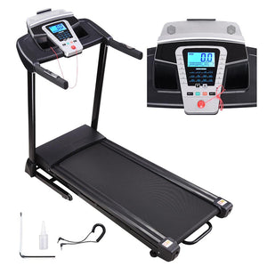 Yescom Folding Treadmill with Speaker 2.25HP 47x17in Running Belt