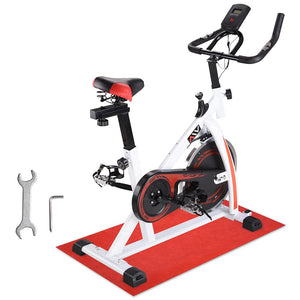 AW Indoor Cycling Workout Exercise Bike White