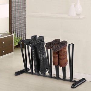 Yescom Boots Organizer Rack Shoes Storage Stand for 4-Pair