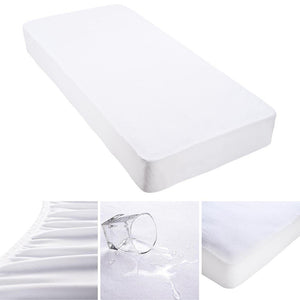Waterproof Mattress Pad Protector Hypoallergenic Cover Size Opt