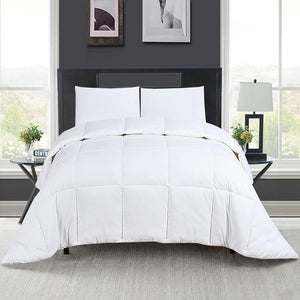 Bedding Comforter Insert Down Alternative Corner Tabs King/ Queen