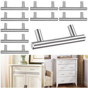 Yescom 10X Stainless Steel Cabinet Bar Pull Handles 4in 6in 8in