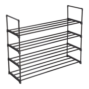 Yescom 4 Tiers 20 Pairs (35x12x29) Metal Shoe Rack Stackable Shelf
