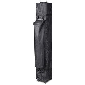 "InstaHibit Canopy Storage Bag w/ Wheels 12x11x63"" for 10x10"