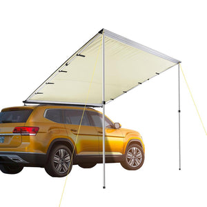 "Yescom Awning 6' 7"" x 8' 2"" Vehicle Rooftop Side Tent Shade"