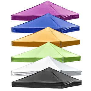 Yescom 9.6'x9.6' Ez Pop Up Tent Canopy Top Replacement Cover Color Opt