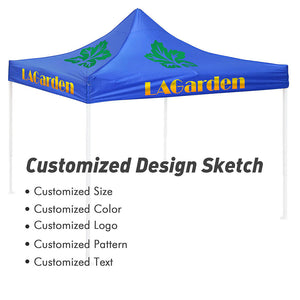 Yescom Custom Print Canopy Top Cover Only 10x10 ft