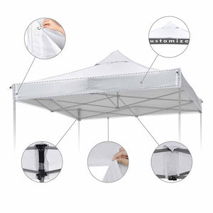 InstaHibit 10'x10' EZ Pop Up Canopy Replacement Air Vent (9.6'x9.6')