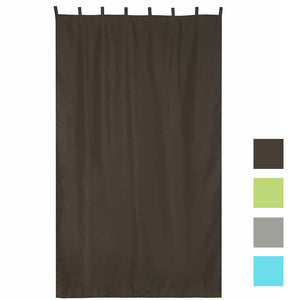Yescom Outdoor Curtain Panel, Tab Top, 54Wx120L