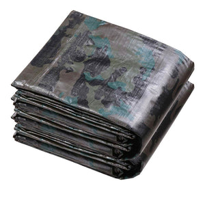 Yescom 7mil Camo Multiuse Heavy-Duty Poly Tarp Reinforced Canopy Size Opt