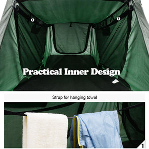 Yescom Tent Cot Camp Bed Tent Folding Off Ground Rain Fly Green (Preorder)