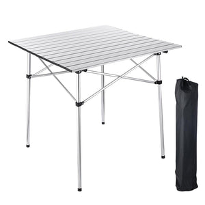 Yescom Roll-up Top Camp Folding Table Outdoor Desk