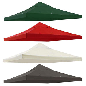 Yescom 10' x 10' Replacement Gazebo Canopy Cover Color Optional