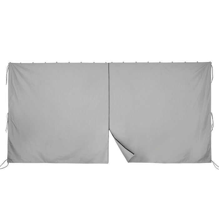 Yescom Gazebo Curtain 10x12ft Privacy Zip Side CPAI-84