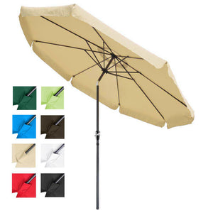 Yescom 10ft Patio Outdoor Market Umbrella Tilt Multiple Colors