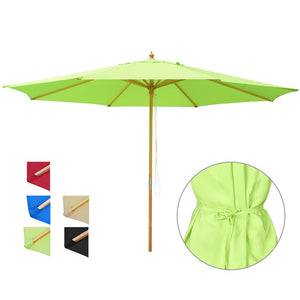Yescom 13ft Patio Wood Market Umbrella Multiple Colors