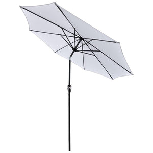 Yescom 9ft Patio Outdoor Market Umbrella Tilt Multiple Colors