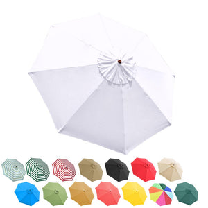 Yescom 9' 8-Rib Outdoor Market Umbrella Replacement Canopy