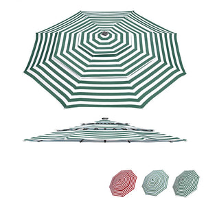 Yescom 10' Outdoor Patio Umbrella Replacement Canopy 3-Tiered 8-Rib