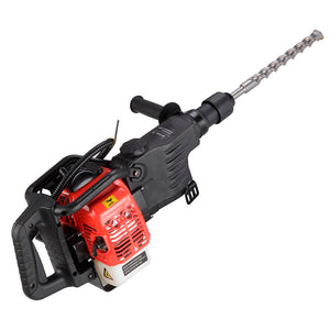 Yescom 32.7cc Gasoline Jackhammer Drill Chisel Tool 2-in-1 w/ EPA