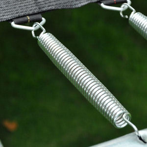 Yescom 5.3in 7in 8.5in Opt Galvanized Steel Wire Trampoline Spring 20pcs