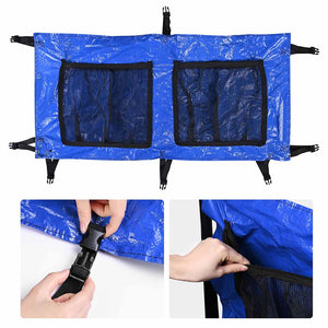 Yescom Trampoline Shoe Bag Parts Storage with 2 Pouches