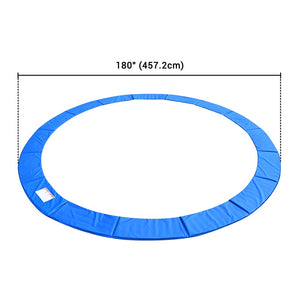 Yescom Trampoline Part 12 13 14 15 foot Safety Pad Blue Padding