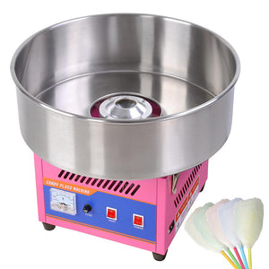 Yescom Commercial Electric Cotton Candy Maker Pink