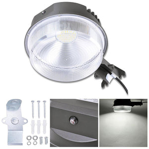 Yescom Outdoor LED Barn Light Dusk-to-Dawn with Photocell 70w 9100lm