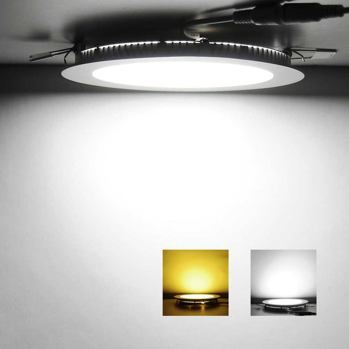 Yescom 12W SMD LED Recessed Ceiling Light w/ Driver