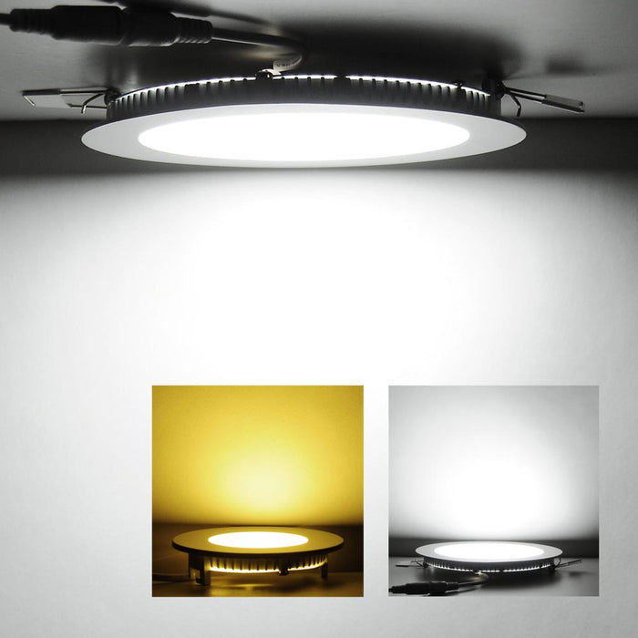 Yescom 9W SMD LED Recessed Ceiling Light w/ Driver