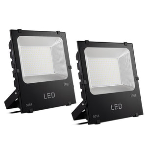 DELight LED Flood Lights 150w Cool White Waterproof Security Lamp