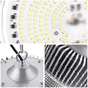DELight LED High Bay Light Warehouse Lights 2Pcs 200W