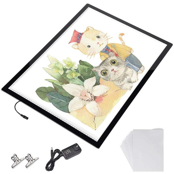 Yescom A2 Light Box Tracing Light Pad 25x19in