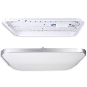 Yescom 48w Rectangle Flush Mount Dimmable LED Ceiling Light Remote