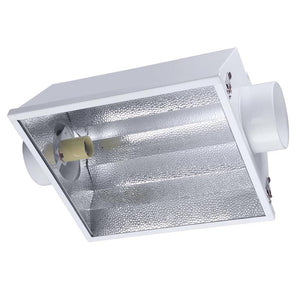 "Yescom Grow Light Reflector Hood w/ Glass 6"" Air Cooled"