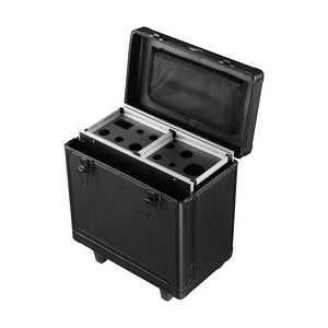 AW Rolling Makeup Cosmetic Case Lockable Hair Salon