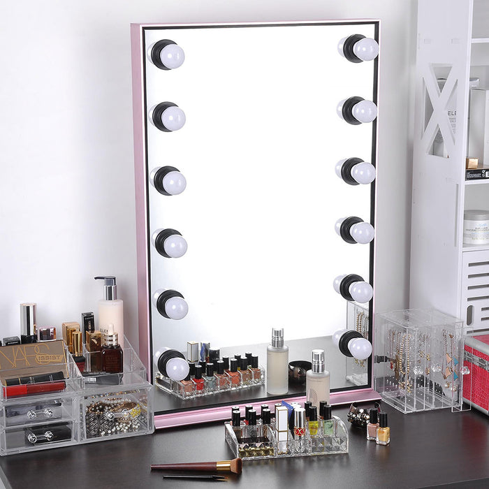 Yescom Hollywood Vanity Mirror Tabletop/Wall, 24x34