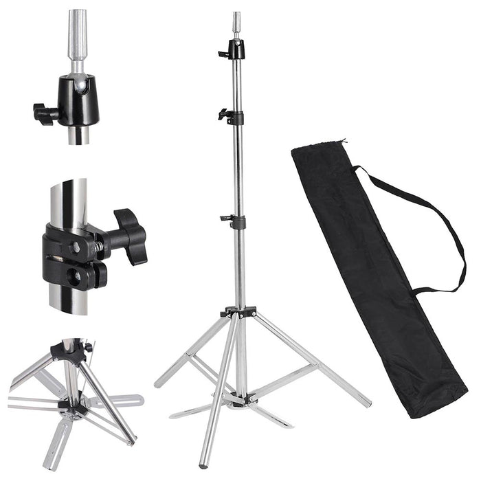Yescom Mannequin Stand Adjustable Tripod for Cosmetology Head