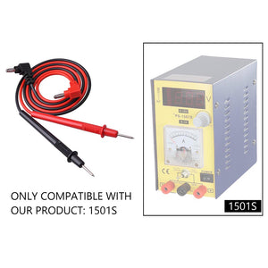 Yescom Multimeter Test Lead Probe Wire Cable 1 Pair